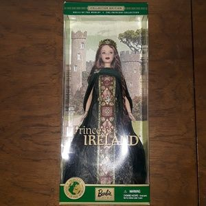 Collector's edition Princess of Ireland Barbie
